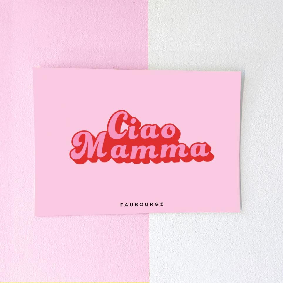 Postcard Ciao Mamma