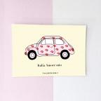 Carte Postale Fiat 500