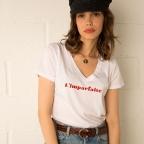 T-Shirt v neck L'imparfaite