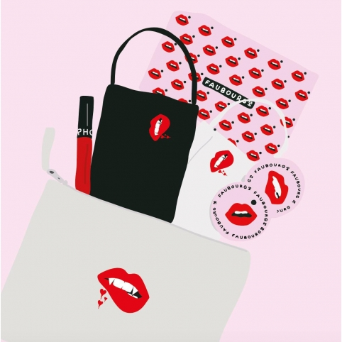 Kit Masques + Pochette Martina Vampire