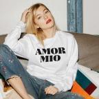 Sweatshirt Amor Mio White
