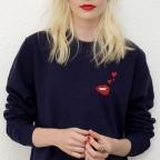 Sweatshirt Martina Loves Blue