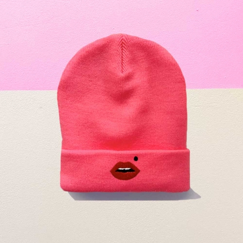 Bonnet Cindy Rose Fluo