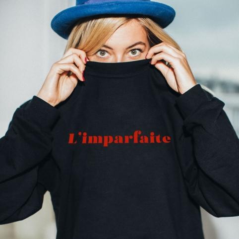 Sweatshirt L'imparfaite Black