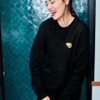 Sweatshirt Martina Gold Black