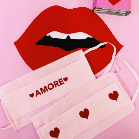 Kit Mask Amore & Celine Pink