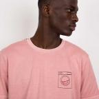 T-Shirt Machine à Laver Rose Homme