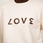 Sweat Love Crème Homme