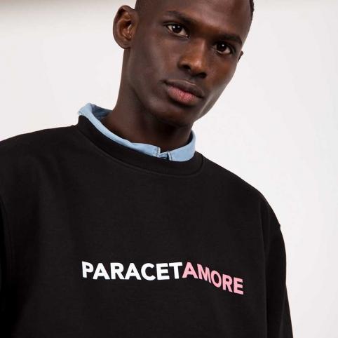 Sweat Paracetamore Noir Homme