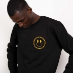 Sweat Fun is for Losers Smile Noir Homme