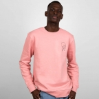 Sweat Squelette Rose Homme