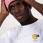 White T-Shirt Pac Man