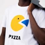 T-Shirt Pac Man Blanc Homme