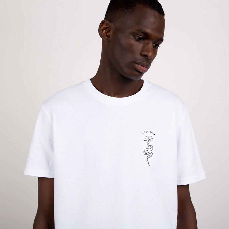 T-Shirt SSSmack Blanc Homme