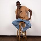 T-Shirt Love Marron Homme