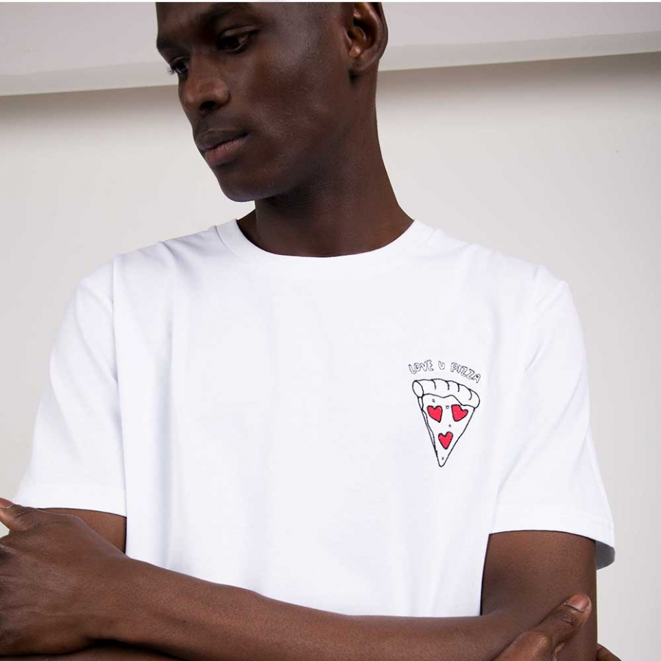 T-Shirt Love u Pizza HOMME