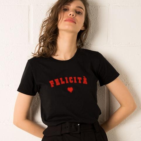 T-Shirt Fecilità Black