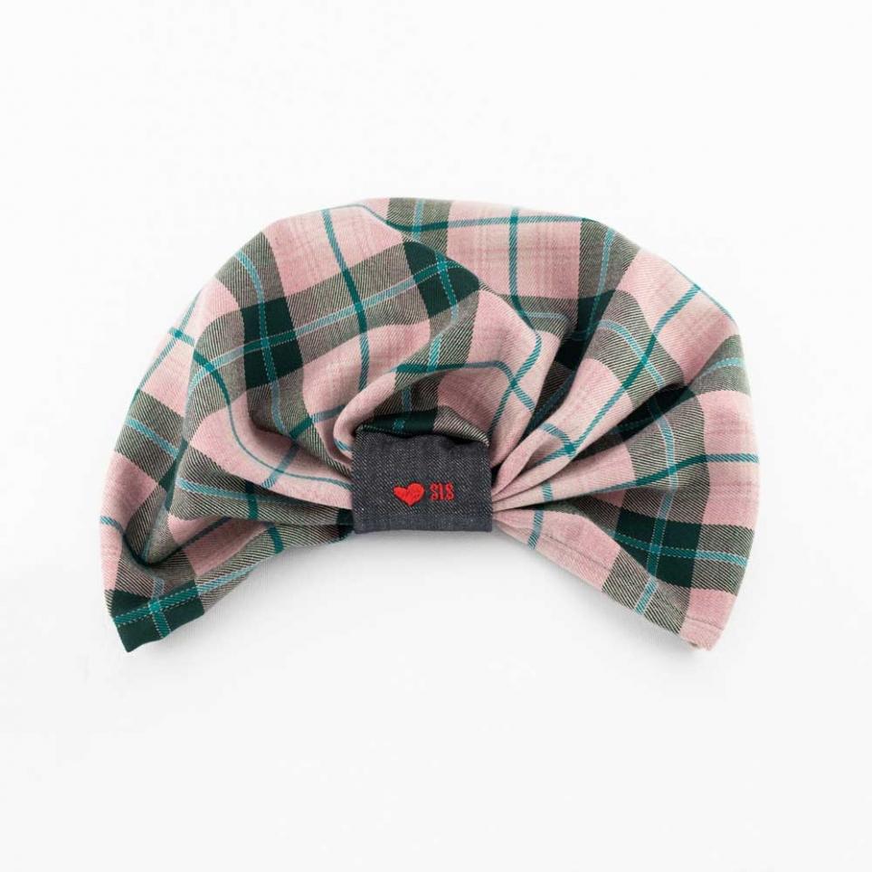 Green & Pink Turban Morgana Sis