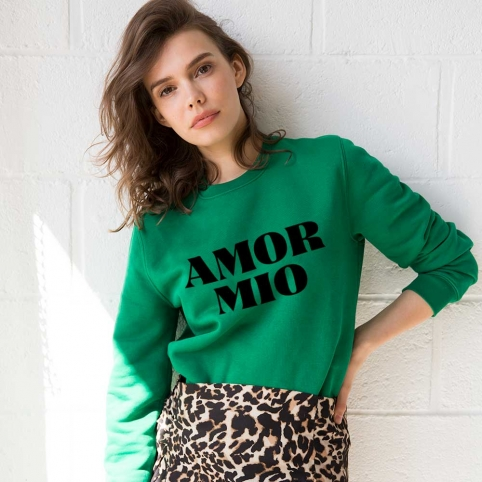 Sweat Amor Mio Vert