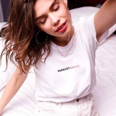 Kit Paracetamore T-Shirt Texte + Blister
