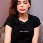 Kit Paracetamore T-shirt Noir Texte + Chewing gum
