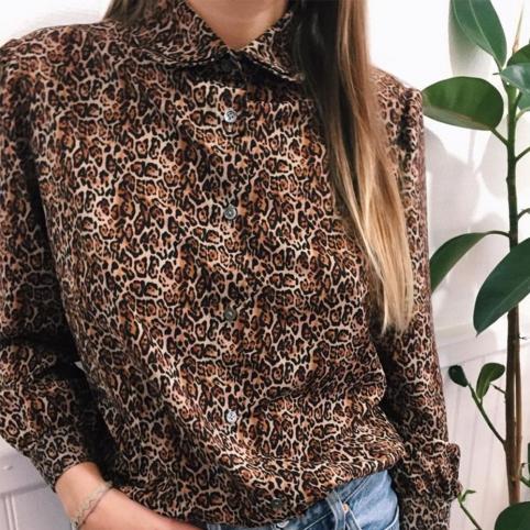 Leopard Shirt Lolita