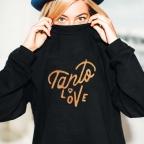 Sweat Tanto Love Gold Noir