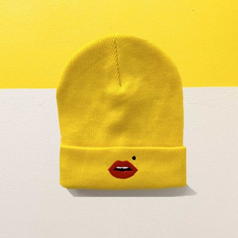 Yellow Beanie Cindy