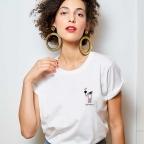 T-Shirt Extincoeur Blanc
