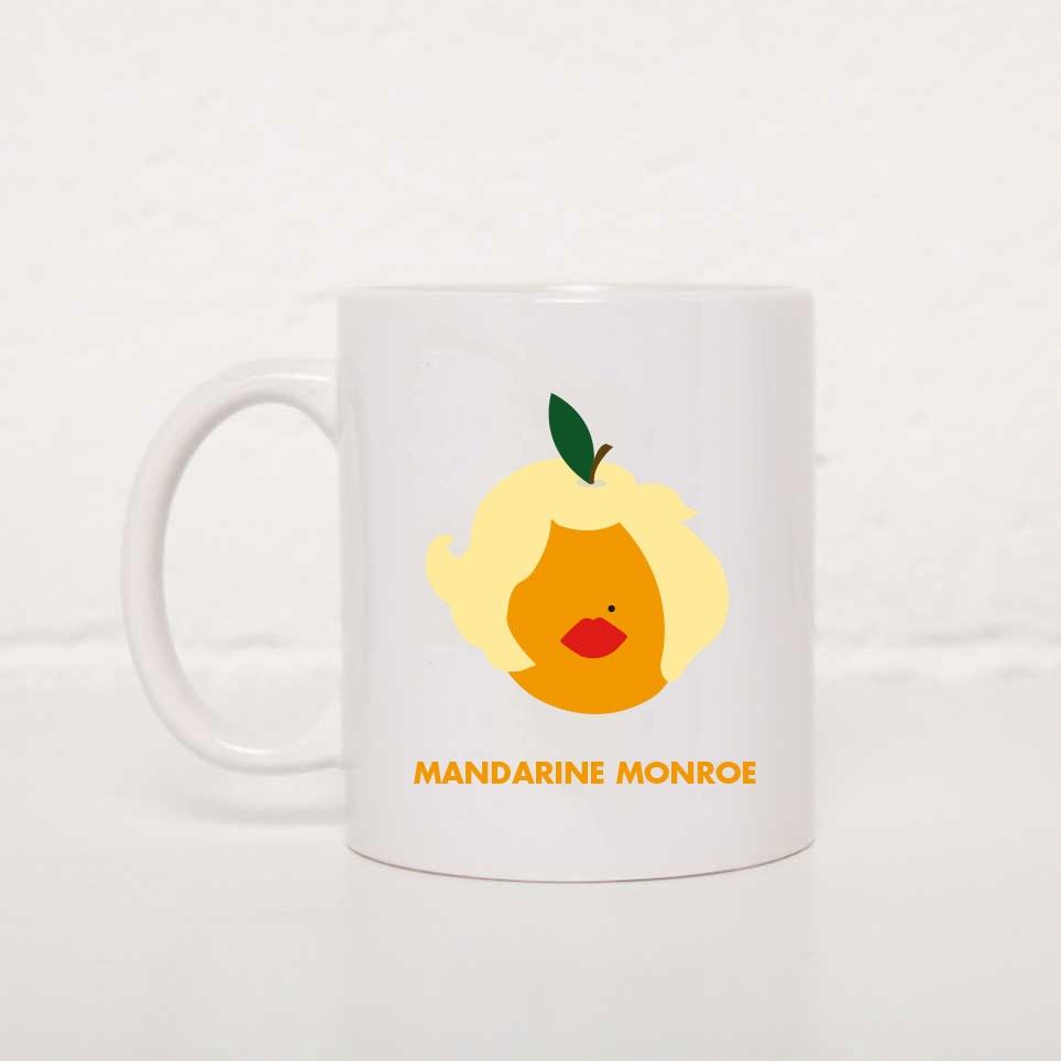Tasse Mandarine Monroe