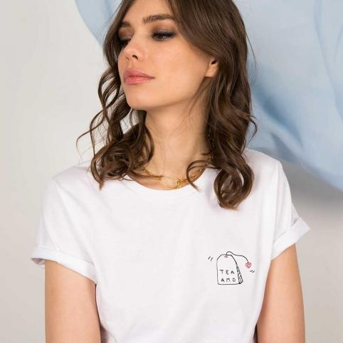 T-Shirt Teamo Blanc