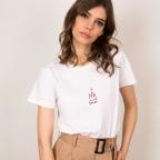 T-Shirt Donna Blanc
