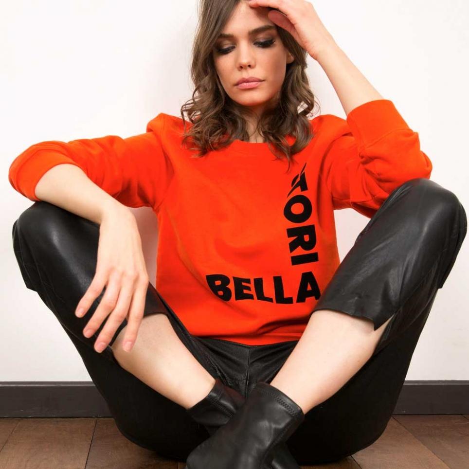 Sweat Bella Storia Orange