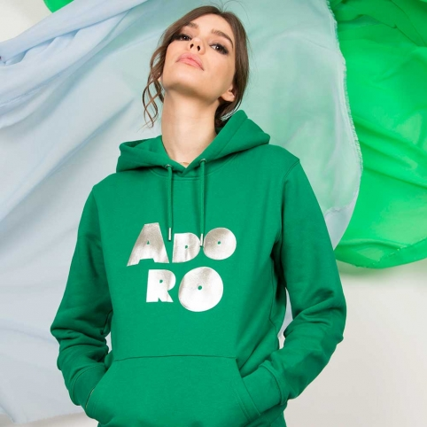 Green Sweatshirt Adoro