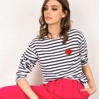 T-Shirt Marinière Bouche Montagnes