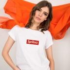 T-Shirt Spritzz Blanc