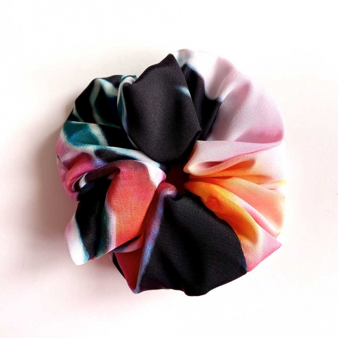 Multicolored Scrunchie