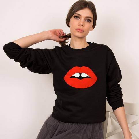 Black Sweatshirt Vanessa