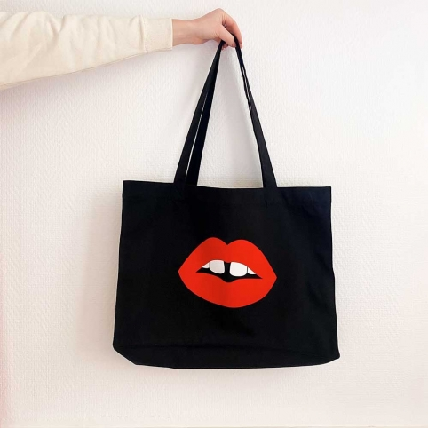 Black Tote Bag Vanessa