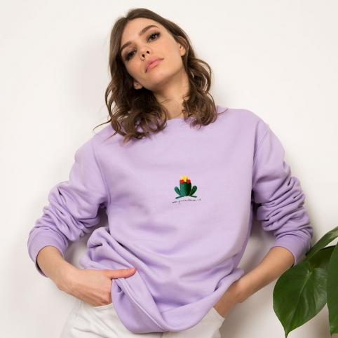 Purple Sweatshirt Giorgio