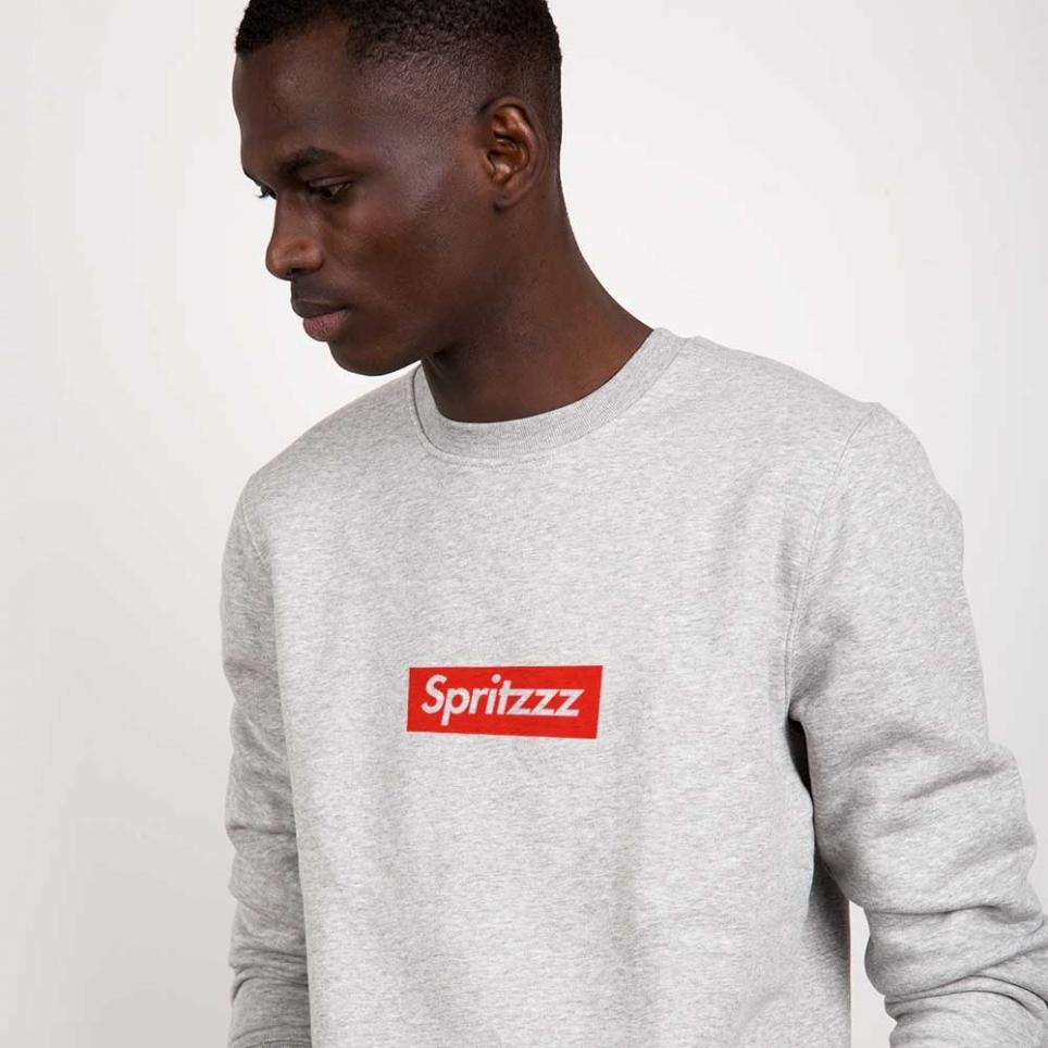 Grey Sweatshirt Spritz Homme