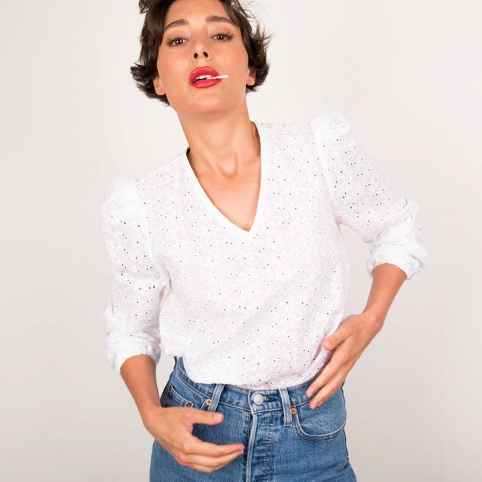 White Shirt Carla
