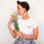 T-shirt FLEUROTONINE