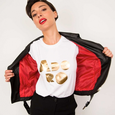 T-shirt ADORO Gold