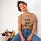 T-Shirt Primavera Camel