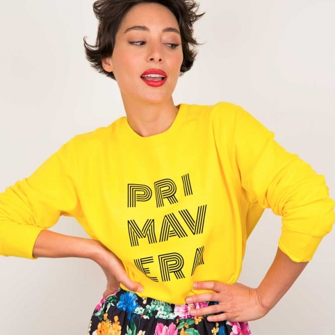 Yellow Sweatshirt Primavera