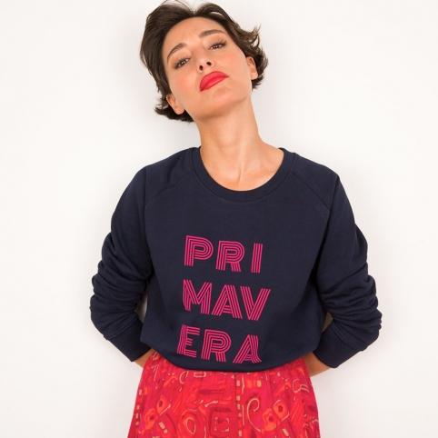 Blu Sweatshirt Primavera