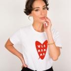 T-Shirt W La Mamma Cœur