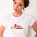 T-Shirt Ciao Mamma Blanc