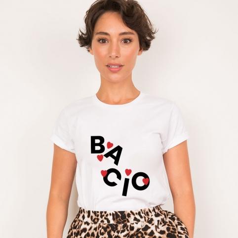 White T-Shirt Bacio